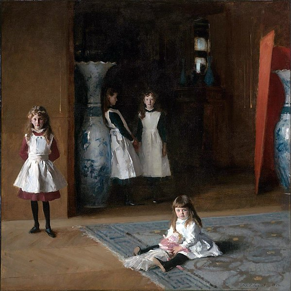 The Daughters of Edward Darley Boit, Oil on Canvas, Museum of Fine Arts, Boston, John Singer Sargent, 1882.
