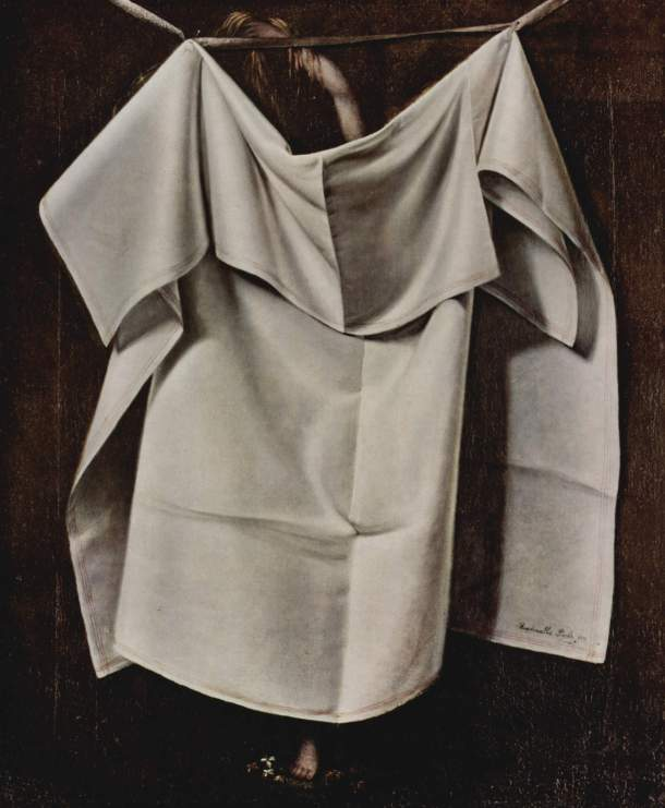After the Bath, Oil on Canvas, Raphaelle Peale, 1823.
