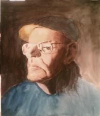 A Quick Portrait in Watercolor.
