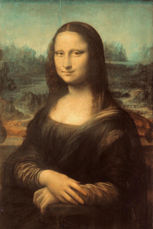 The Mona Lisa, Oil on Wood Panel, The Louvre Museum, Leonardo Da Vinci, 1503-06.