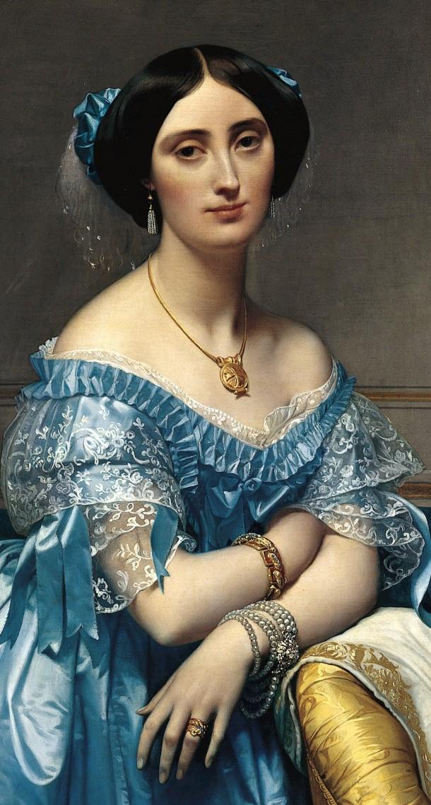 The Princesse de Broglie (Detail.)