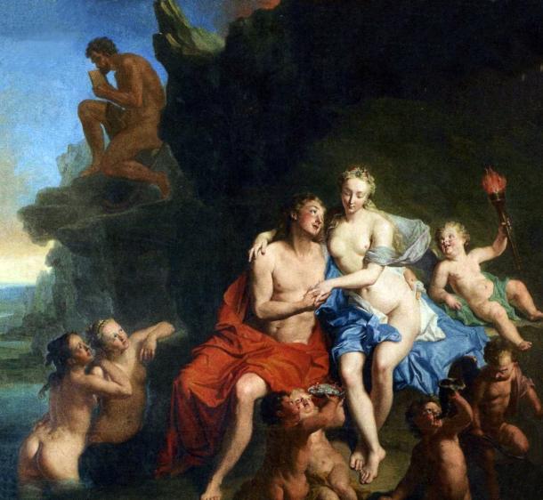 Acis und Galatea by Jacob van Schuppen (circa 1730).