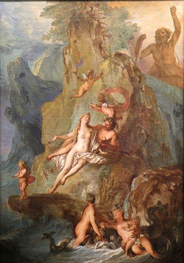 Acis and Galatea by Nicolas Bertin (Date Unknown).