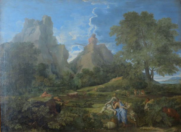 Landscape with Polyphemus by Nicolas Poussin (Date Unknown).