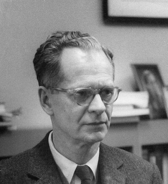 BF Skinner, The Behaviorist at Harvard Circa 1950.