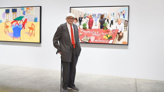 A Video on Hockney